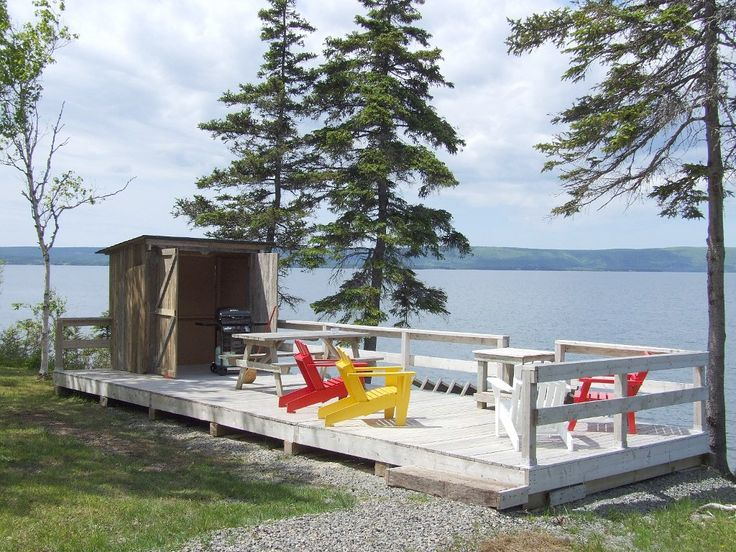 Waterfront cottage direct on beautiful Bras d'Or Lake: 2 BR Vacation Cottage for Rent in Nova Scotia   HomeAway.ca