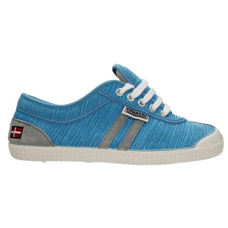 Zapatillas Kawasaki Retro Stitch Blue #moda #verano #zapatillas