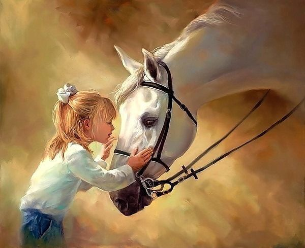 ЛЮБЛЮ ЛОШАДЕЙ  Люблю лошадей - Вот прекрасные звери! Но в чём же любовь Мне к лошадкам измерить?  Она, как мне кажется, Очень весома. Размером с площадку, Киоск и три дома.  Да что там c киоск! - Пустяки, несомненно. Любовь к лошадям Больше целой Вселенной.  Степанова Елена Анатольевна  http://www.stihi.ru/2015/03/27/2690    #ChildBookCase #КнижныйШкафДетям #КШД_НовыеАвторы #КШД_Поэзия #КШД_СтепановаЕА #КШД_от0 #поэзия #стихи #детки