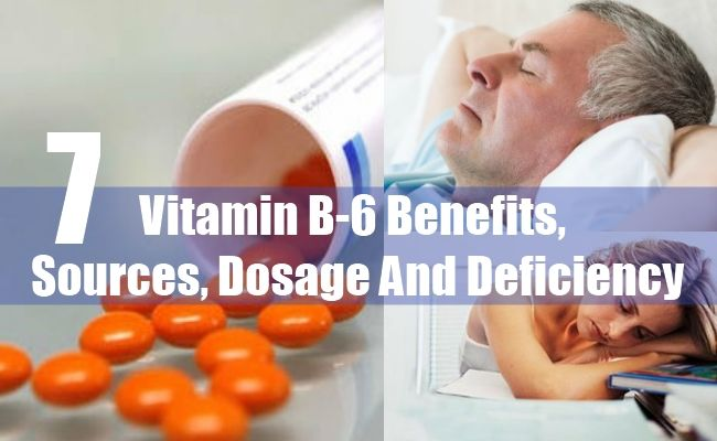 7 Vitamin B-6 Benefits, Sources, Dosage And Deficiency | http://www.vitaminsestore.com/vitamin-b-6-benefits-sources-dosage-and-deficiency/
