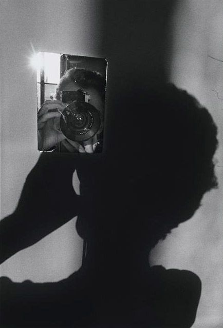 Ugo Mulas - The process of photography - Self-portrait for Lee Friedlander, 1971