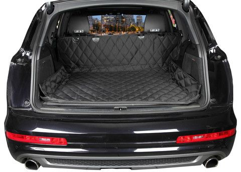 Large Pet Cargo Liner | Black Cargo Liner | Large Cargo Covers For Dogs - 4Knines | 4Knines