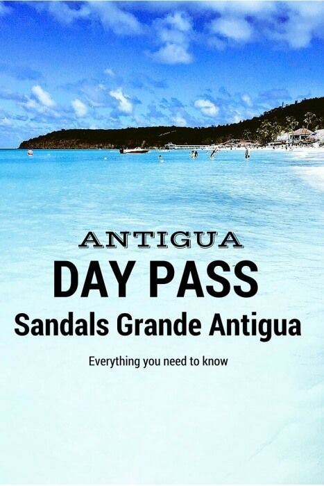 Got a long layover or looking for something to do on your cruise excursion? Check out a Day Pass to Sandals Grande #Antigua