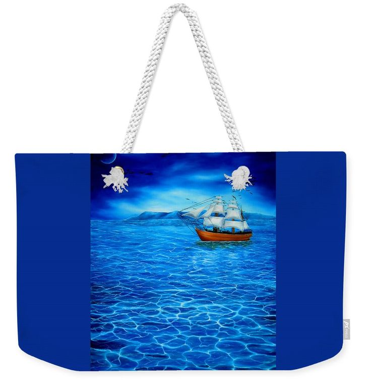Weekender Tote Bag,  blue,cool,beautiful,fancy,unique,trendy,artistic,awesome,fahionable,unusual,accessories,for,sale,design,items,products,gifts,presents,ideas,nautical,marine,sailboat,sea