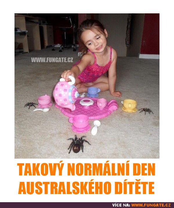 Takový normální den australského dítěte