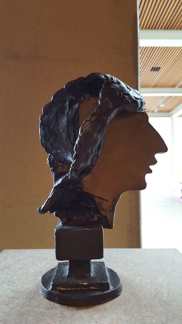 Portrait Johan Cruijff, 2006 - Eric Claus - Collection Beelden aan Zee
