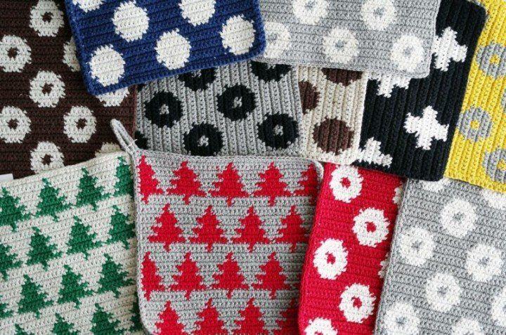 【Björk / ビヨルク】の手編みのポットマットをご紹介   folk