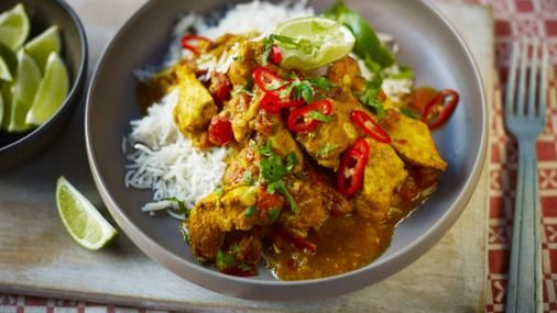Chicken jalfrezi is up there as a curry house favourite and this version by Simon Rimmer shows it's as easy as anything to make at home.
