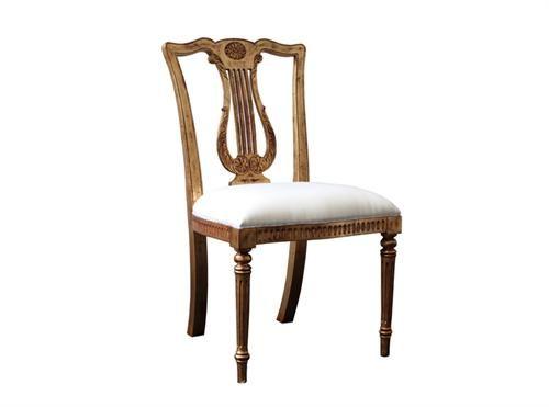 Guitar Chair Gold Measurements 460 x 460 x 940