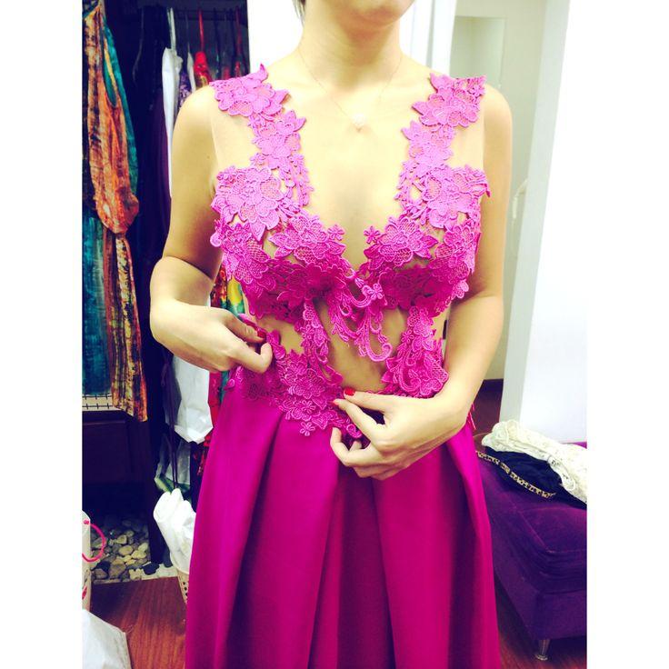 Dress in the making • #pamelastevenson