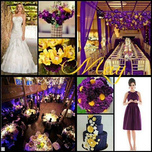 Wedding Colors in May | Wedding Color Ideas by Month