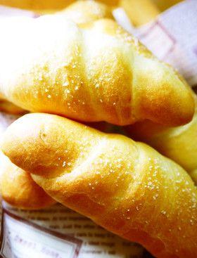 朝食&ランチ☆HB塩パン(塩ロールパン)