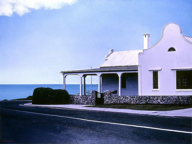 Luyts Corner, Hermanus - oil on linen canvas,  © John Kramer - All Rights Reserved