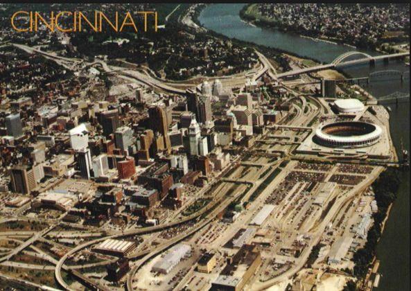 Before Paul Brown Stadium and Great American Ballpark ...