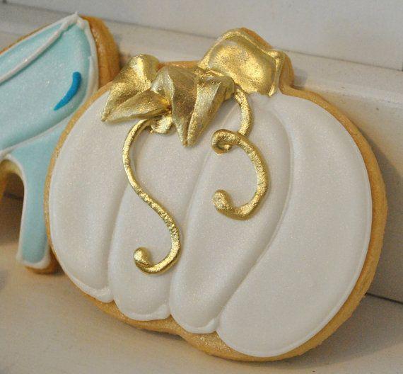 Cinderella Princess Theme Cookies  1 dozen