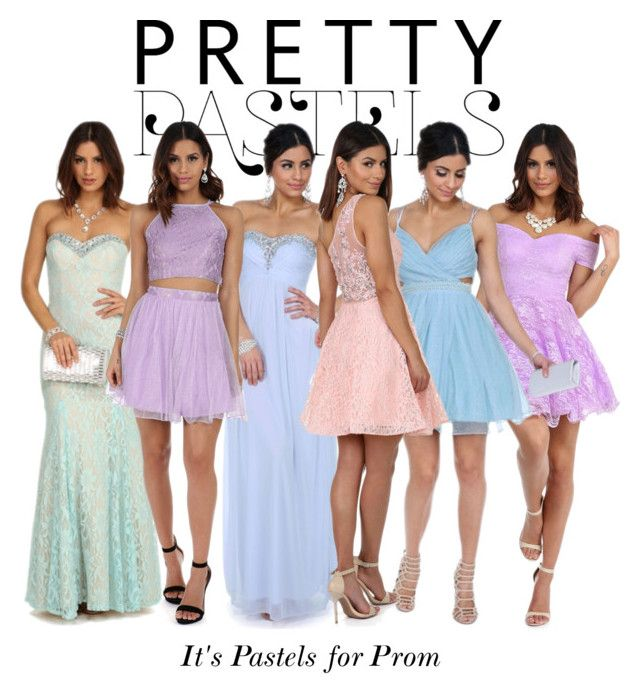 """""""Pretty Pastels - Prom Dresses"""" by windsorstore on Polyvore featuring Prom, dresses, pastels and prom2016"""