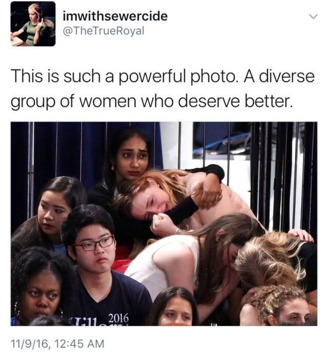"""Omg I laughed for a sec cuz I thought it said """"a group of women who deserve BEER"""" and then I read I actually looked at the pic and I was like no I must have read it wrong and I did ..."""