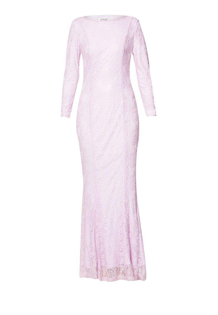 Buy Zalia Embellished Lace Mermaid Dress Online | ZALORA Malaysia