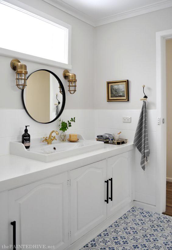 Diy Budget Friendly Bathroom Makeover Cheap Bathroom Makeover Bathrooms Remodel Diy Bathroom Remodel