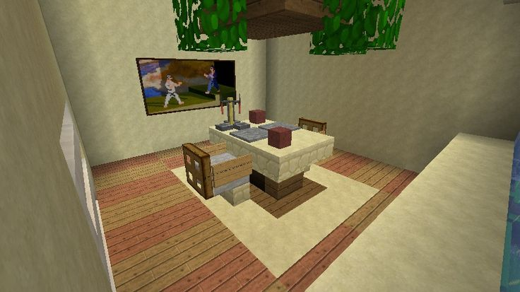 Oltre 25 fantastiche idee su mobili minecraft su pinterest for Minecraft dining room designs