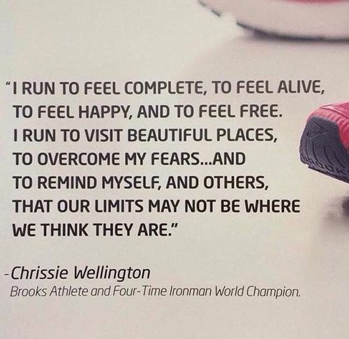 Running Matters #203: I run to feel complete, to feel alive, to feel happy, and to feel free. I run to visit beautiful places, to overcome my fears, and to remind myself, and others, that our limits may not be where we think they are.