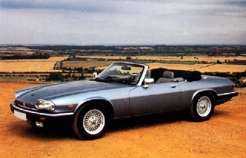 Jaguar XJS [I totally wanted one of these as a kid, and would happily take one now - convertible or coupe]