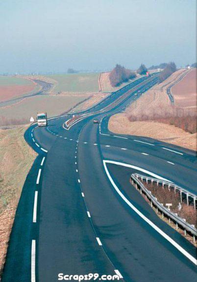 amazing road.