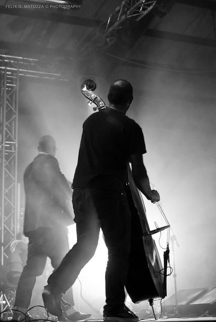 Charles Mingus Use of Bass Guitar