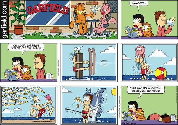 Garfield Comic Strip, January 24, 2016 on GoComics.com