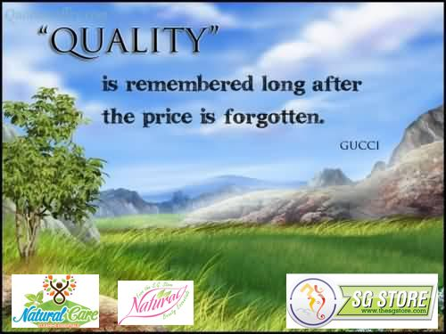 #Quality is #King