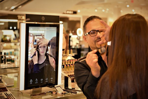 Neiman Marcus introduces the Memory Makeover mirror at Le Métier de Beauté cosmetic counters - Retail Focus - Retail Blog For Interior Design and Visual Merchandising