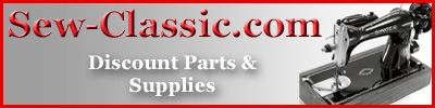 sew-classic.com - US site, but very reasonable international shipping rates and great customer service. Sells discount parts and supplies for sewing machines inc. presser feet, screws, needle plates etc.