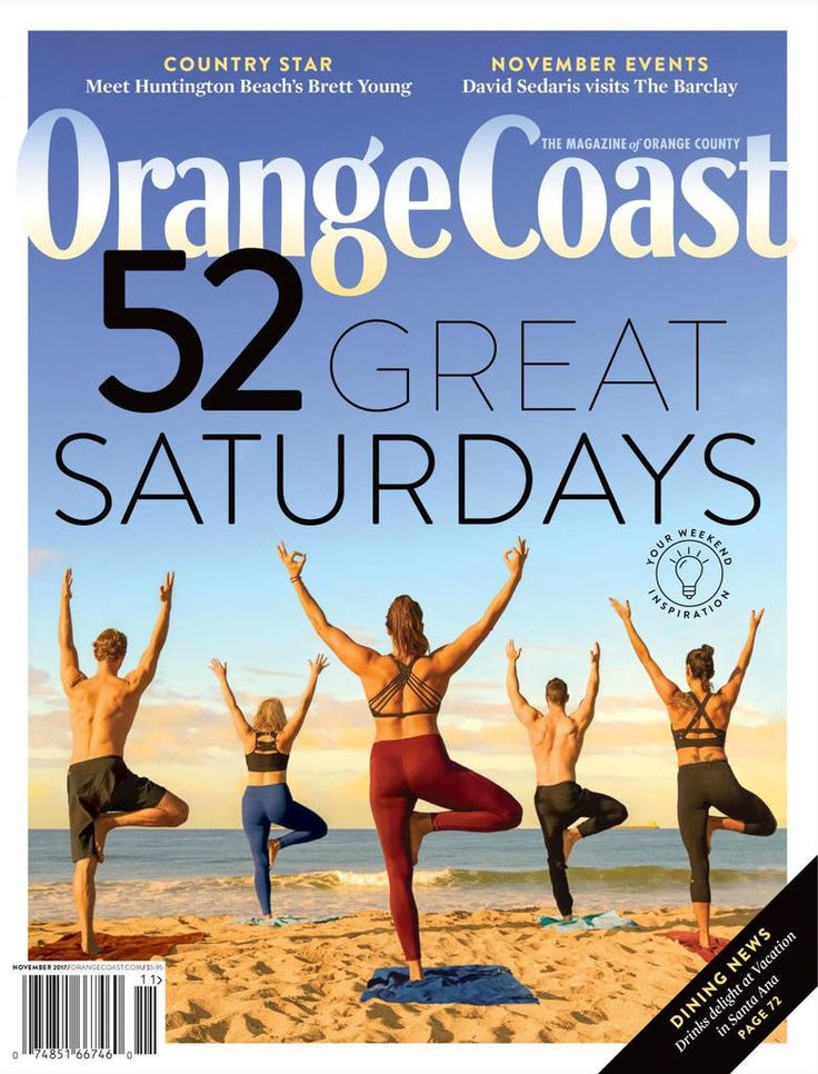 Orange Coast. Meet Orange County?s most interesting people, tour the most inviting homes, sample the most dazzling menus, and preview the most intriguing and entertaining events in each big, colorful, and informative issue of Orange Coast magazine.