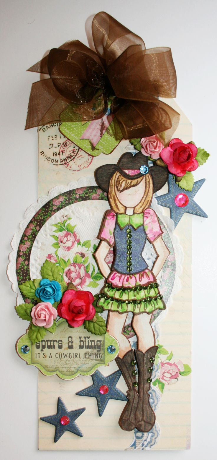 Cowgirl Thing Tag - Scrapbook.com
