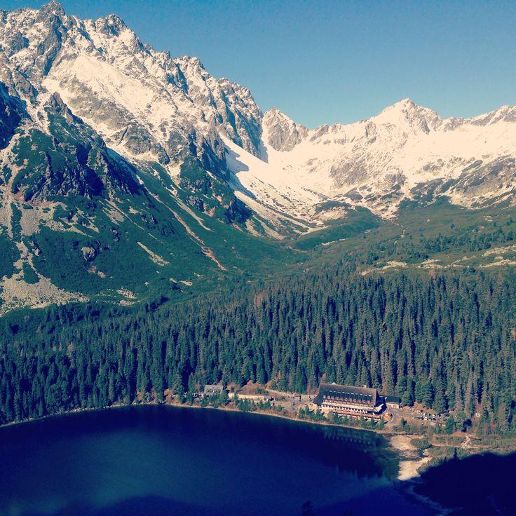 Popradske pleso, Vysoke Tatry, Slovensko High Tatras, Slovakia