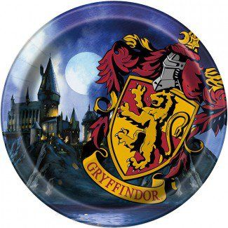 Harry Potter Party Supplies, Harry Potter Dinner Plates, Tableware