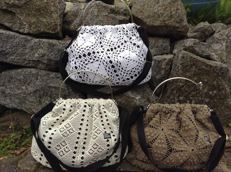 Maxi handbags by Risako.
