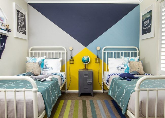Trendy And Timeless 20 Kids Rooms In Yellow And Blue Yellow Kids Bedroom Boys Bedroom Colors Yellow Kids Rooms