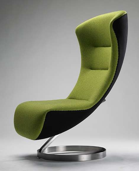 The Oversized Lounge Chair By Nico Klaeber Is Super Comfortable #design
