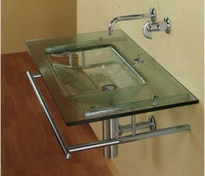 Bolan Nuvola Glass Sink