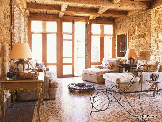 Rustic Style home in Lebanon featured in World of Interior interior