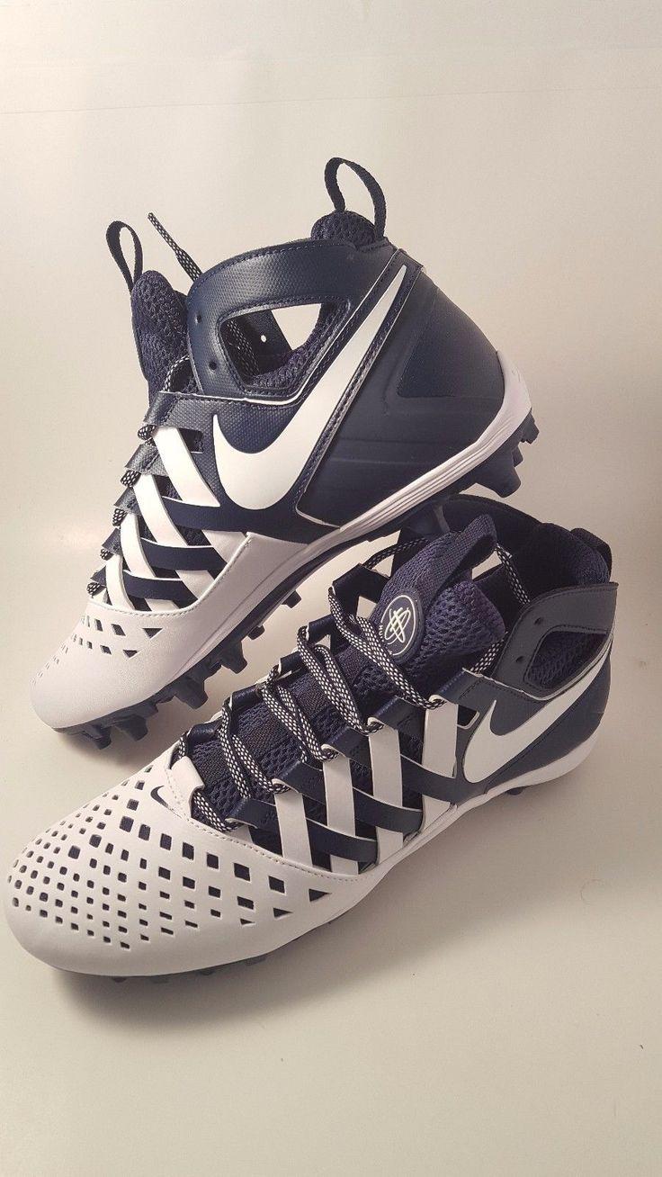 Footwear 159154: Bnib Nike Huarache 5 - Size 9.5 - White Navy Blue -> BUY IT NOW ONLY: $74.99 on eBay!