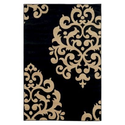 damask area rug chocolate 160 at target so my style interior