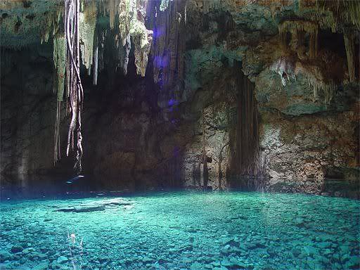 7 Danau di dalam gua     7 Danau di dalam gua . Alam memang selalu mempunyai…