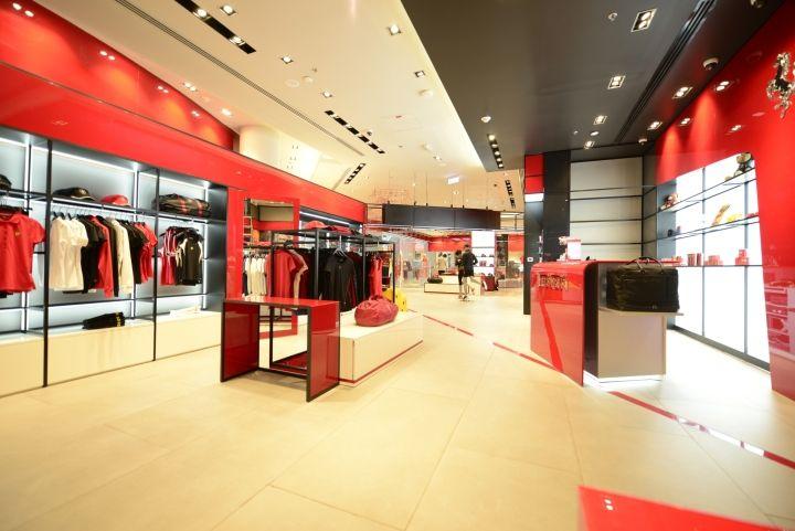 Ferrari flagship store by Massimo Iosa Ghini studio & Umdasch Shopfitting…