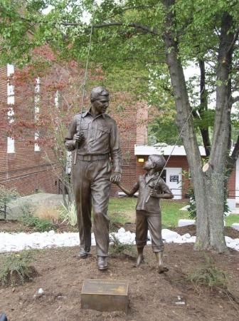 The Andy Griffith Show North Carolina And Statue Of On