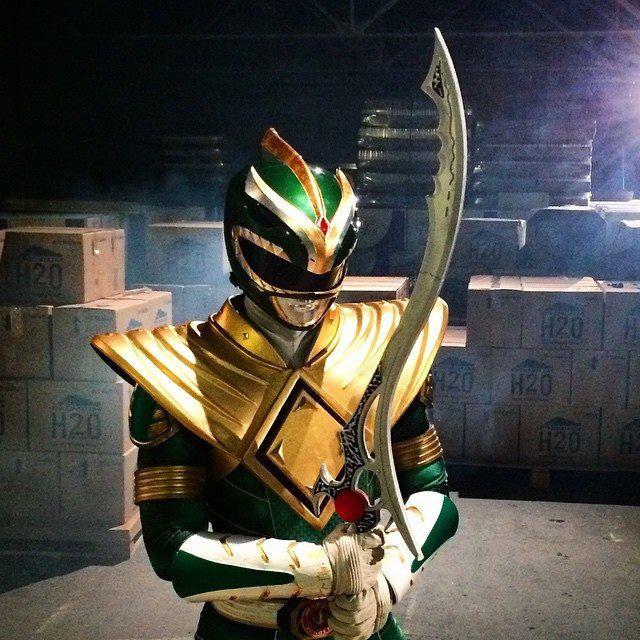 Green Ranger sweet costume update