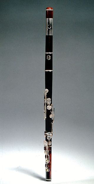Hugh Cottier   Transverse Flute, wood, metal   American, 1850  The Met