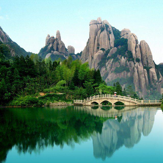 Simply UNREAL: Taimu Mountain  Fujian, China!