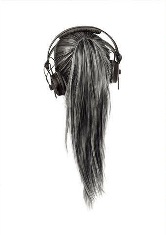 #headphone #pony #girl